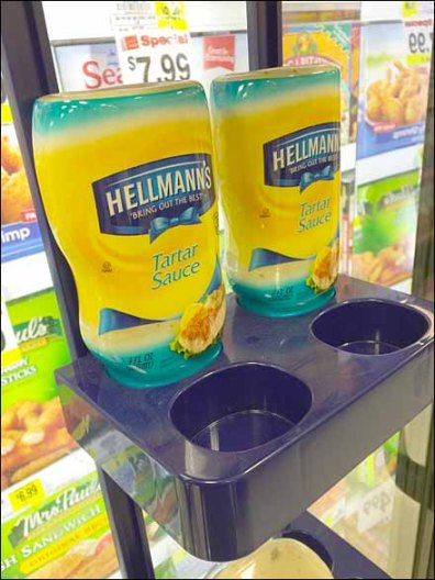 Hellman's Cooler Door Cross-Sell Tray