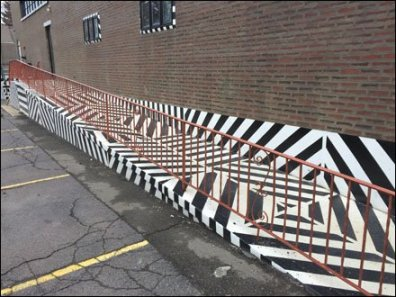 Maine Source Dazzle Paint Handicap Ramp