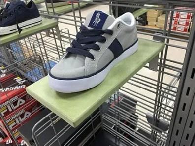 Marshall's Slatwall Shoe Ledges 1
