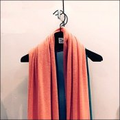 Sak's Hangered Scarf Merchandising High-End Look