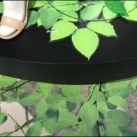 Vinyl Green Vines and Leaves 6