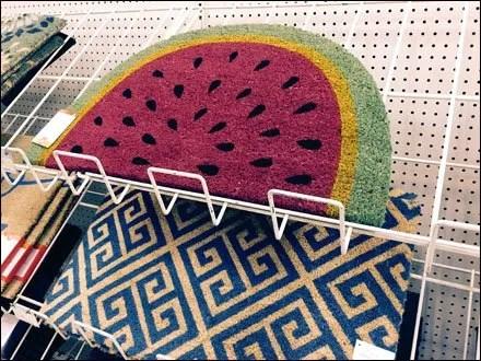 Watermelon Slice Welcome Mat Main