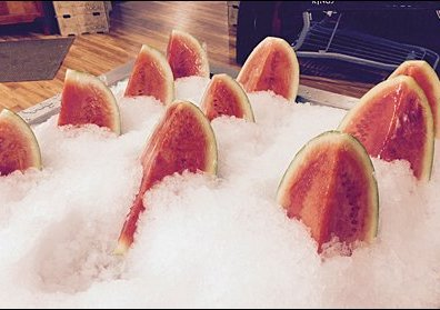 Iced Watermelon at King's