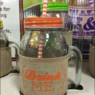 Mason Jar Summer Glass set 4