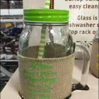 Mason Jar Summer Glass set 6