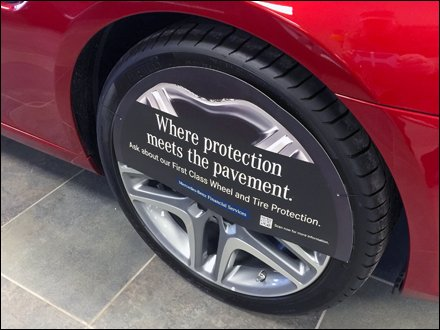Mercedes Wheel Protection QR Code