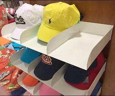 Polo Divided Cap Trays 2