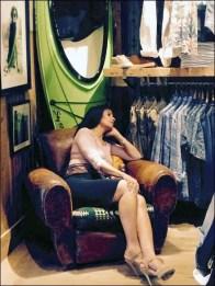Relaxing at Ralph Lauren 2