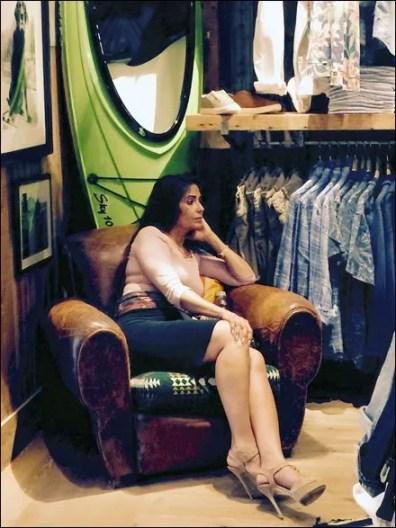 Relaxing at Ralph Lauren 3