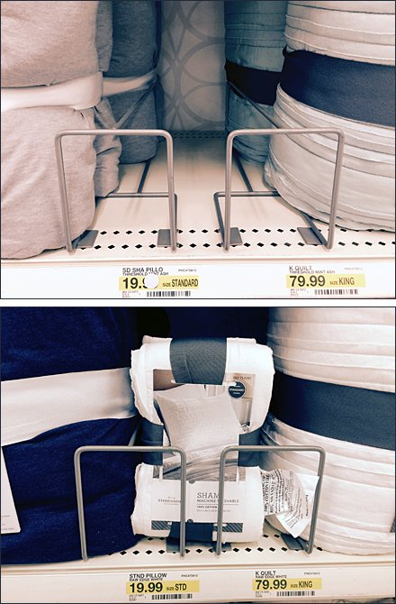 Pillow Sham Shelf-Edge Cross-Sell