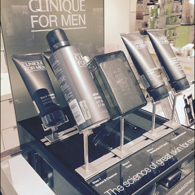 Clinique Slotted Display Stand for Men