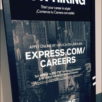 Express Mobile Employment Cart