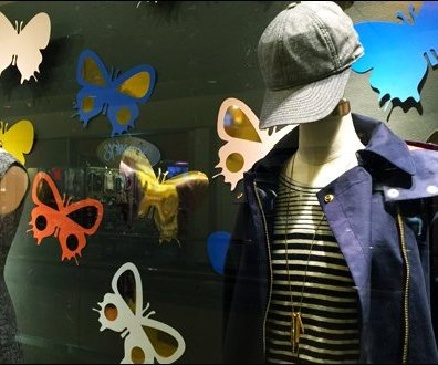 Insect Die Cuts Window Dressing 3