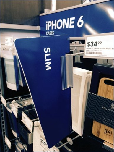 iPhone Aisle Invader Saddle-Mounts