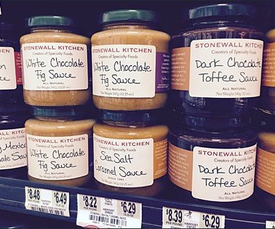 Stonewall Kitchen Hand-Lettered Labels