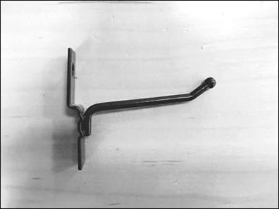 Metal Flatback Corrugated Hook 5
