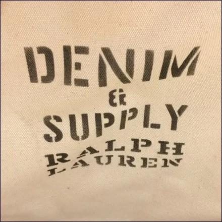 Ralph Laurel Denim & Supply Canvas Branding