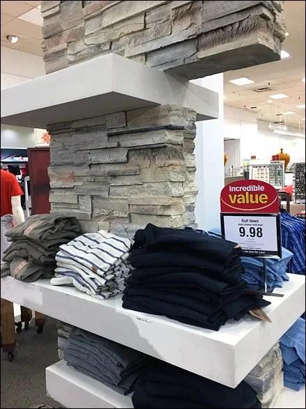 Ruff Hewn Stone Wall Display