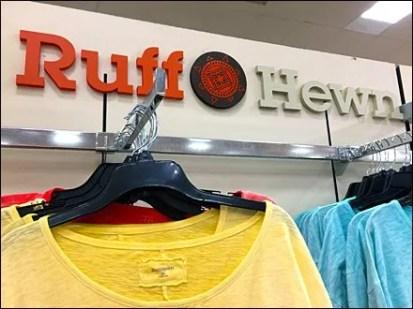 Ruff Hewn Wall Logo