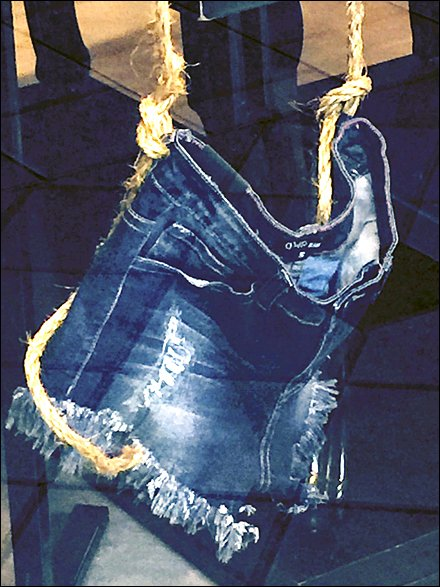 Shorts Strung Up By Rope 6