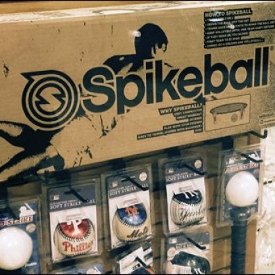 Slatwall for Spikeball Baseball