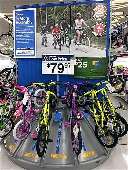 Pyramid Bicycle Display Benefits