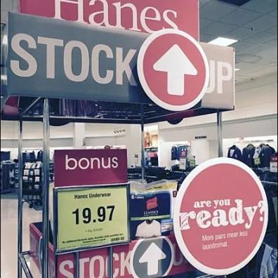 Bon-Ton Hanes Stock Up 3
