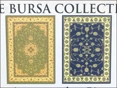 Bursa Carpet Colection Signage 3