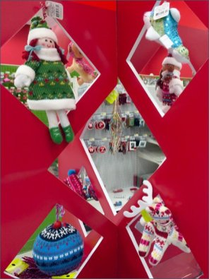 Christmas Ornamenmt Die-Cut Display 3