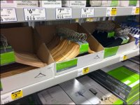 Clothes Hangers Corrugated Trays