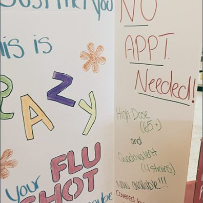 D.I.Y. Retail Flu Shot Promotion 3