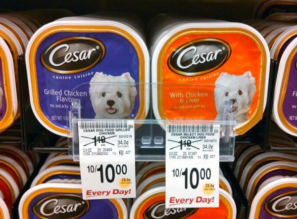 Gormet Dog Food Dual Tray Promo Clip 300dpi 2.6x2