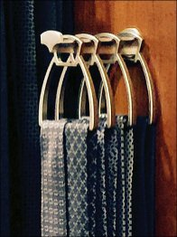Hermes Sculptured Necktie Hooks