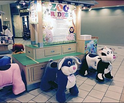 Mall Zoo Ride Kiosk 2