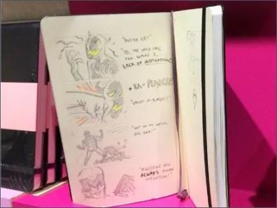 Moleskine Storyboard Shelf Merchandising