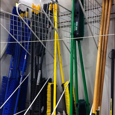 Mop and Broom Dividers