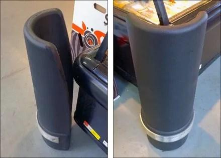 Plasticized Cooler Corner Guards