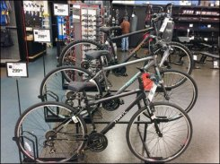 Tiered Bicycle Stand 2