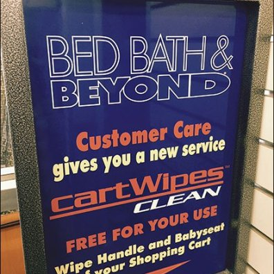 Bed Bath Beyond Cart Wipes 3