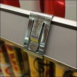 Coca-Cola® Branded Metal Grip Clip for C-Channel