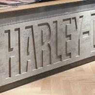 Harley-Davidson In-Store Branding Detail