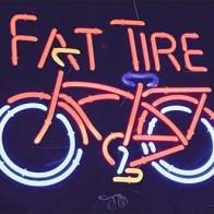 Fat Tire Brand in Neon