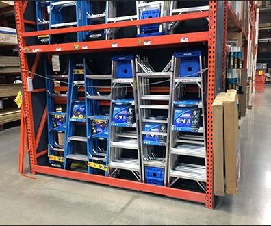 Interlocking Step Ladder Display