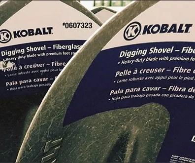 Kobalt Branded Shovels 2