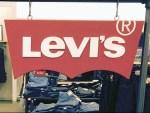 Levi's Logo Free-Hanging on S-Hooks