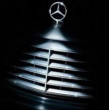 Mercedes Benz As Retail Christmas Ornament