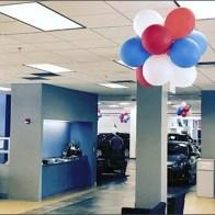 Mercedes Dealership Balloon Decor