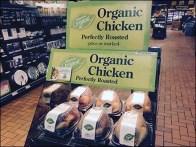 Organic Chicken Merchandising Sign 1