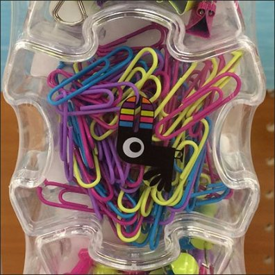Paper Clip and Push Pin Puzzle 2