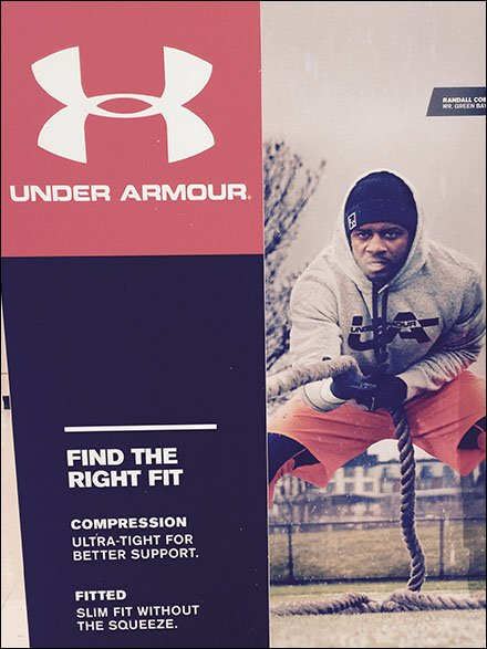 Under Armour Color-Coordinated Fall Seasonal Campaign